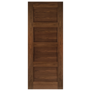 Coventry Prefinished Walnut Fire Door