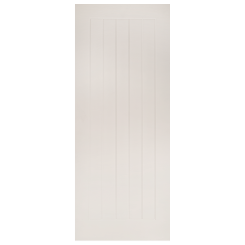 Ely White Primed Fire Door