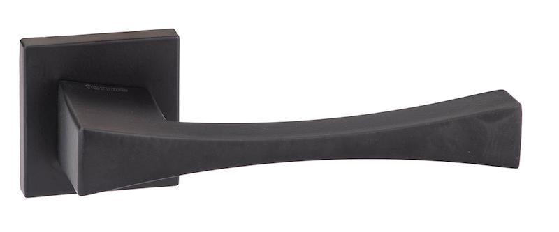 Forme Artemide Designer Lever on Minimal Square Rose - Matt Black