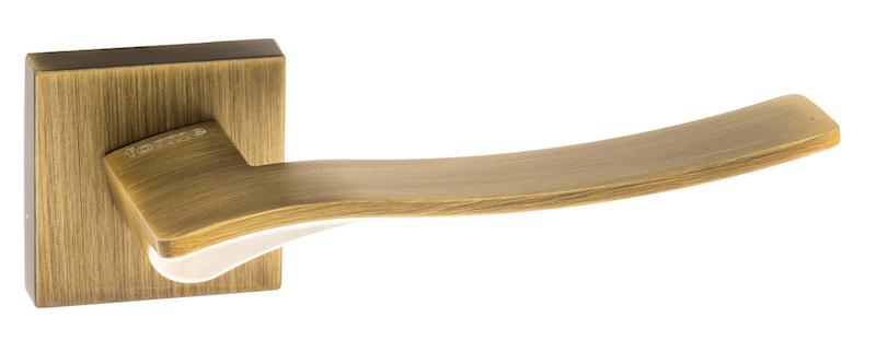 Forme Olimpia Designer Lever on Minimal Square Rose - Yester Bronze