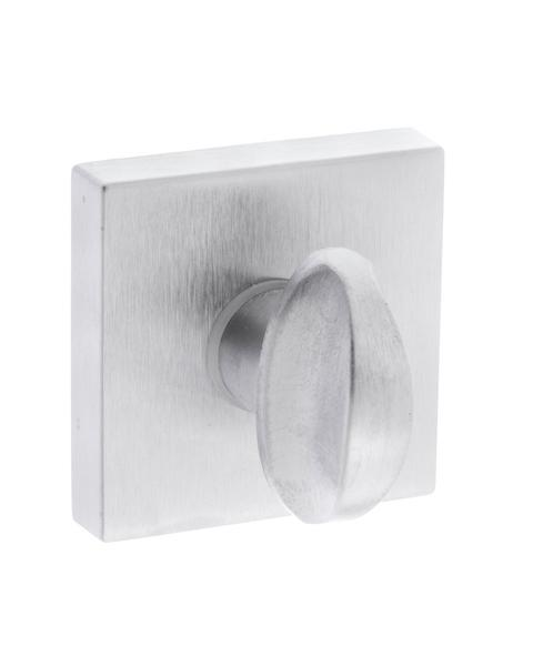 Forme WC Turn and Release on Minimal Square Rose - Satin Chrome
