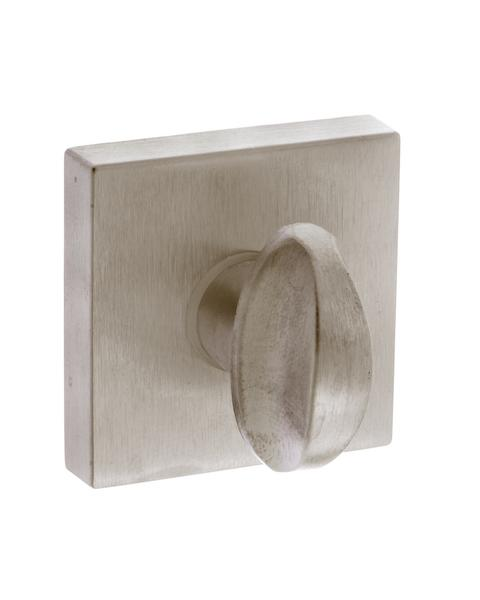 Forme WC Turn and Release on Minimal Square Rose - Satin Nickel