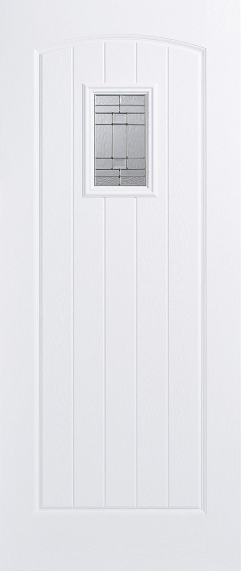 Cottage 1L Pre-Finished White Doors 813 x 2032