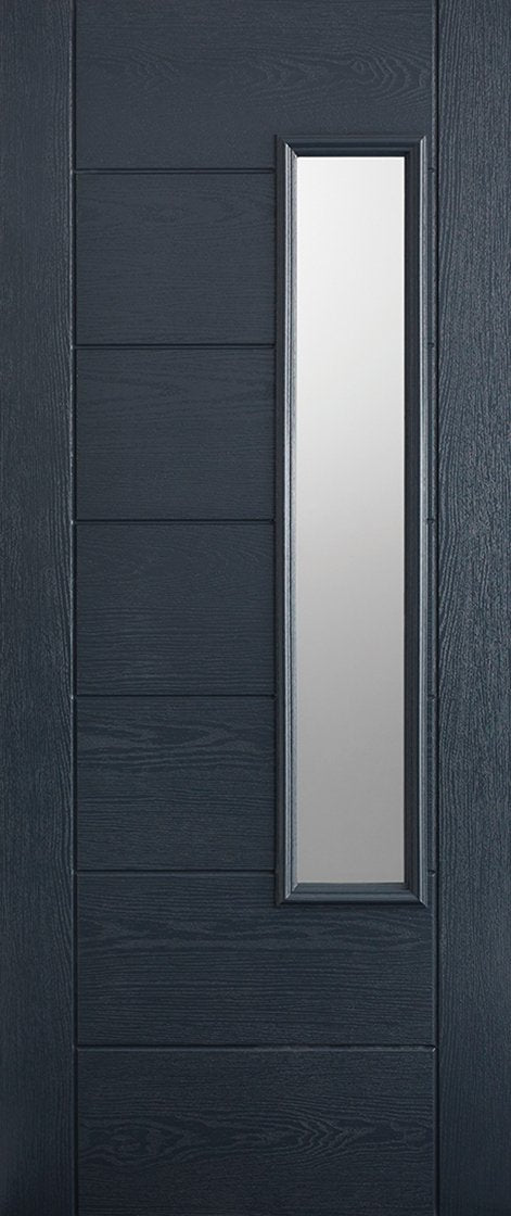 Newbury 1L Pre-Finished Anthracite Grey Doors 813 x 2032