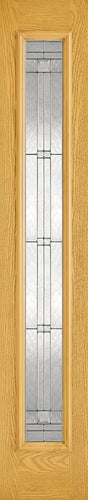Sidelight 1L Elegant Pre-Finished Oak Doors 356 x 2032
