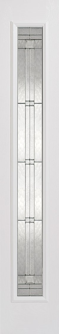 Sidelight 1L Elegant Pre-Finished White Doors 356 x 2032