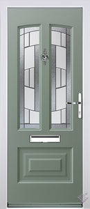 Rockdoor Ultimate - Illinois Inspire Composite Door Set