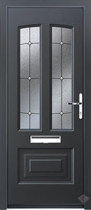 Rockdoor Ultimate - Illinois Trinity  Composite Door Set
