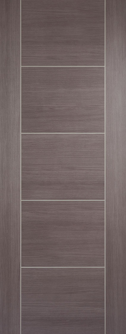 Vancouver Pre Finished Laminate Medium Grey