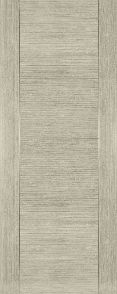 Montreal Light Grey Ash Fire Door