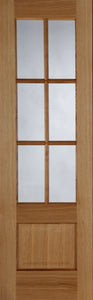Hampstead 6 Light Glazed Prefinished Oak
