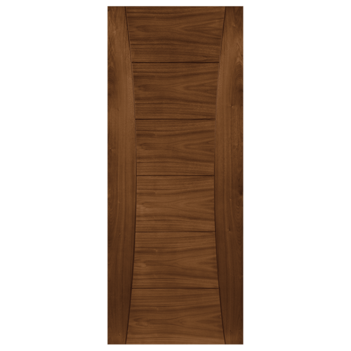 Pamplona Prefinished Walnut Fire Door