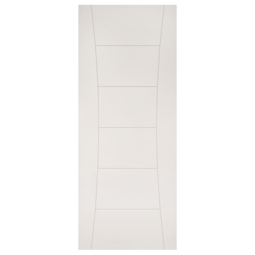 Pamplona White Primed Fire Door