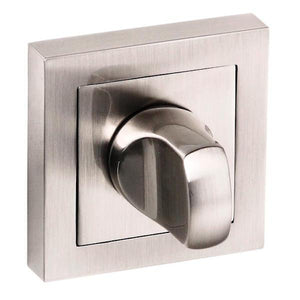 Senza Pari WC Turn and Release on Flush Square Rose - Satin Nickel