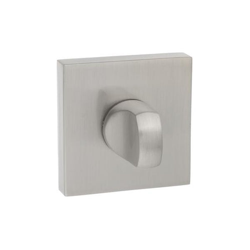 Senza Pari WC Turn and Release on Square Rose - Satin Nickel