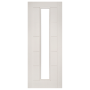 Seville White Primed UnGlazed Fire Door