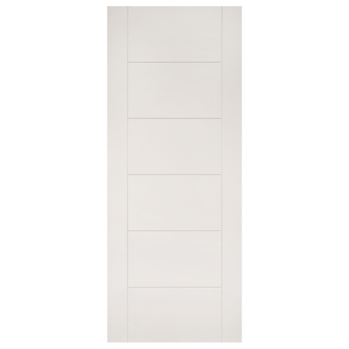 Seville White Primed Fire Door