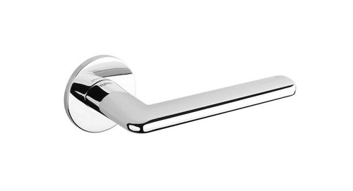 Tupai 5S Line 3098 Designer Lever on Round Rose - Polished Chrome