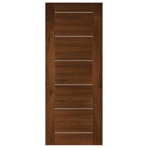 Valencia Prefinished Walnut Fire Door