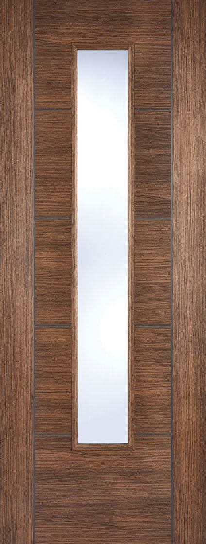 Vancouver Pre Finished Laminate Walnut Glazed