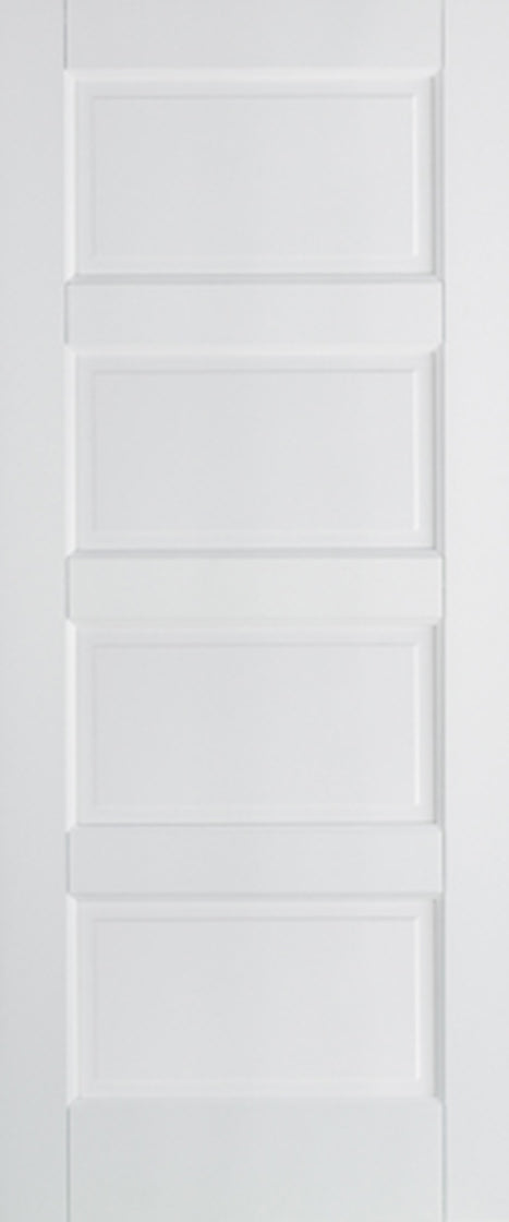 Contemporary White Primed Solid Core