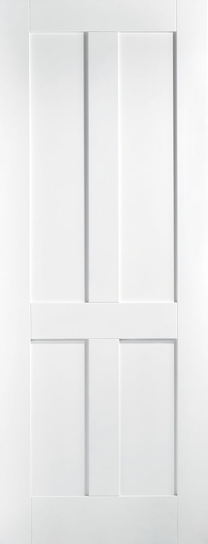 London White Primed Solid Core