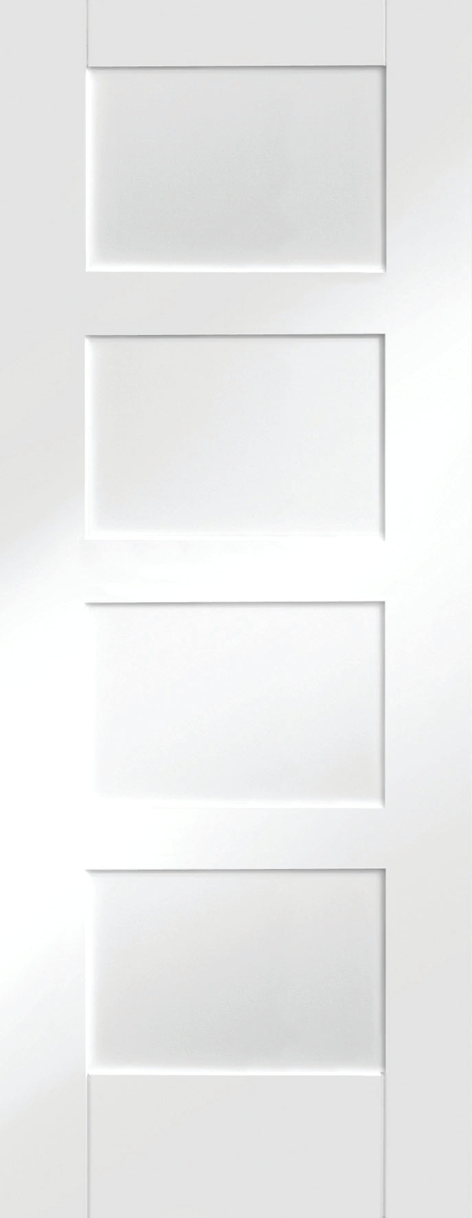 Contemporary 4 Panel White Primed