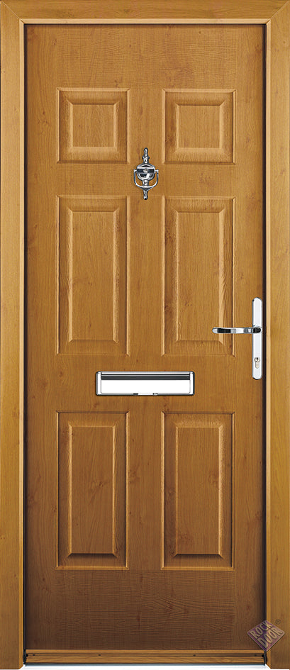 Rockdoor Ultimate - Colonial Solid Composite Door Set