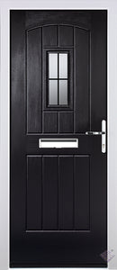 Rockdoor Ultimate - English Cottage Square Lead Glazed Composite Door Set