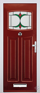 Rockdoor Ultimate - Newark Jubilee Glazed Composite Door Set