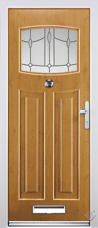 Rockdoor Ultimate - Neward Lantern Glazed Composite Door Set