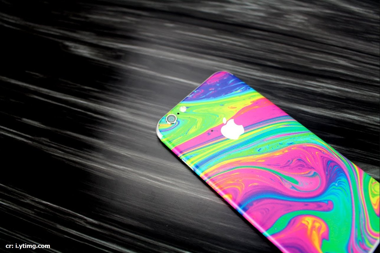 colorful neon tone โทนสีแต่งภาพ สีนีออน iphone modern backround design theme contrast color photoshop