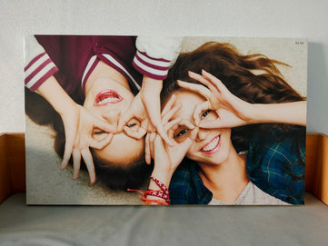 Photo Printing Canvas Print with Frame printing service in bangkok Thailand good quality fast delivery