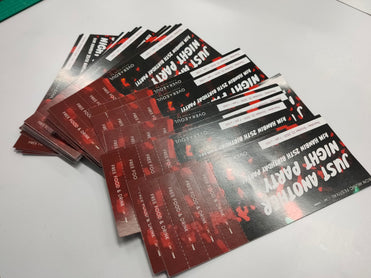 ticket printing service in bangkok Thailand good quality fast delivery