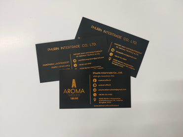 name card coupon printing service in bangkok Thailand good quality fast delivery