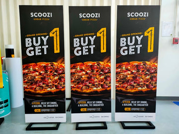 poster stand  pop posm display pp board print foamcore printing service advertising company in bangkok thailand