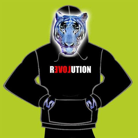 KIDS  HOODY - LOVE REVOLUTION