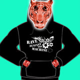 MENS HOODY - RAVE AGAINST THE MACHINE