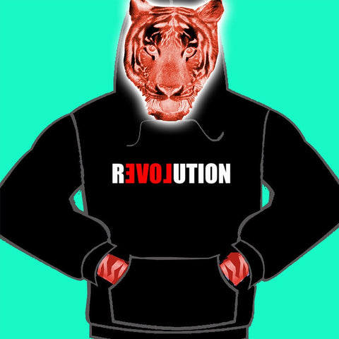 MENS HOODY - LOVE REVOLUTION