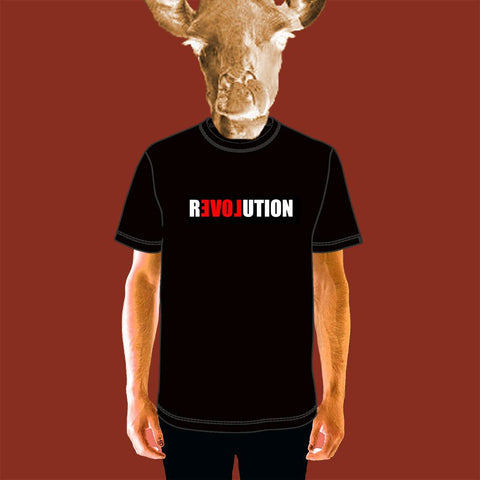 MENS TEE - LOVE REVOLUTION