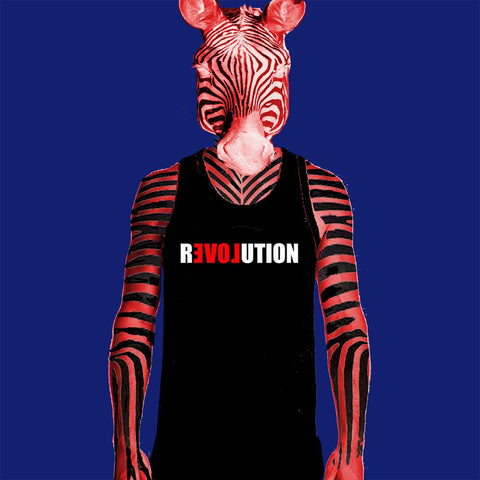 MENS SINGLET - LOVE REVOLUTION