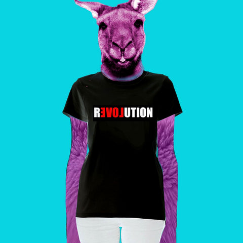 LADIES TEE - LOVE REVOLUTION