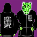 LADIES ZIPPED HOODY - THE ONLY GOOD SYSTEM IS A SOUND SYSTEM