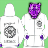 LADIES ZIPPED HOODY - NON BOSSY POSSE