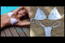 Load image into Gallery viewer, Bikini string Bermudes white