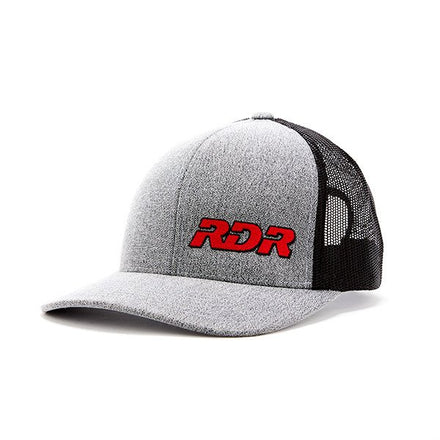 RDR GEAR GREY/BLACK HAT