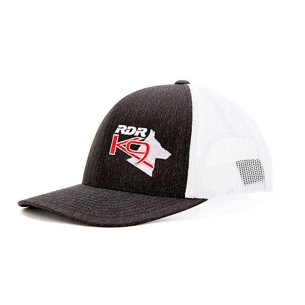 RDR K9 BLACK/WHITE HAT