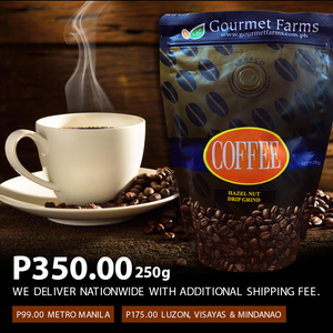 Gourmet Farms Hazelnut Coffee
