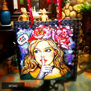 Painted (Bayong) Bags