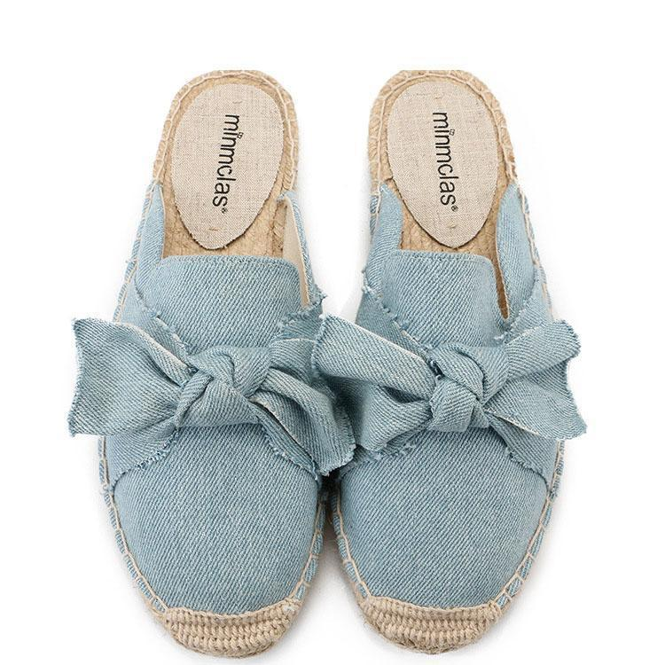 Casual Embroidery Bow-Knot Sandals